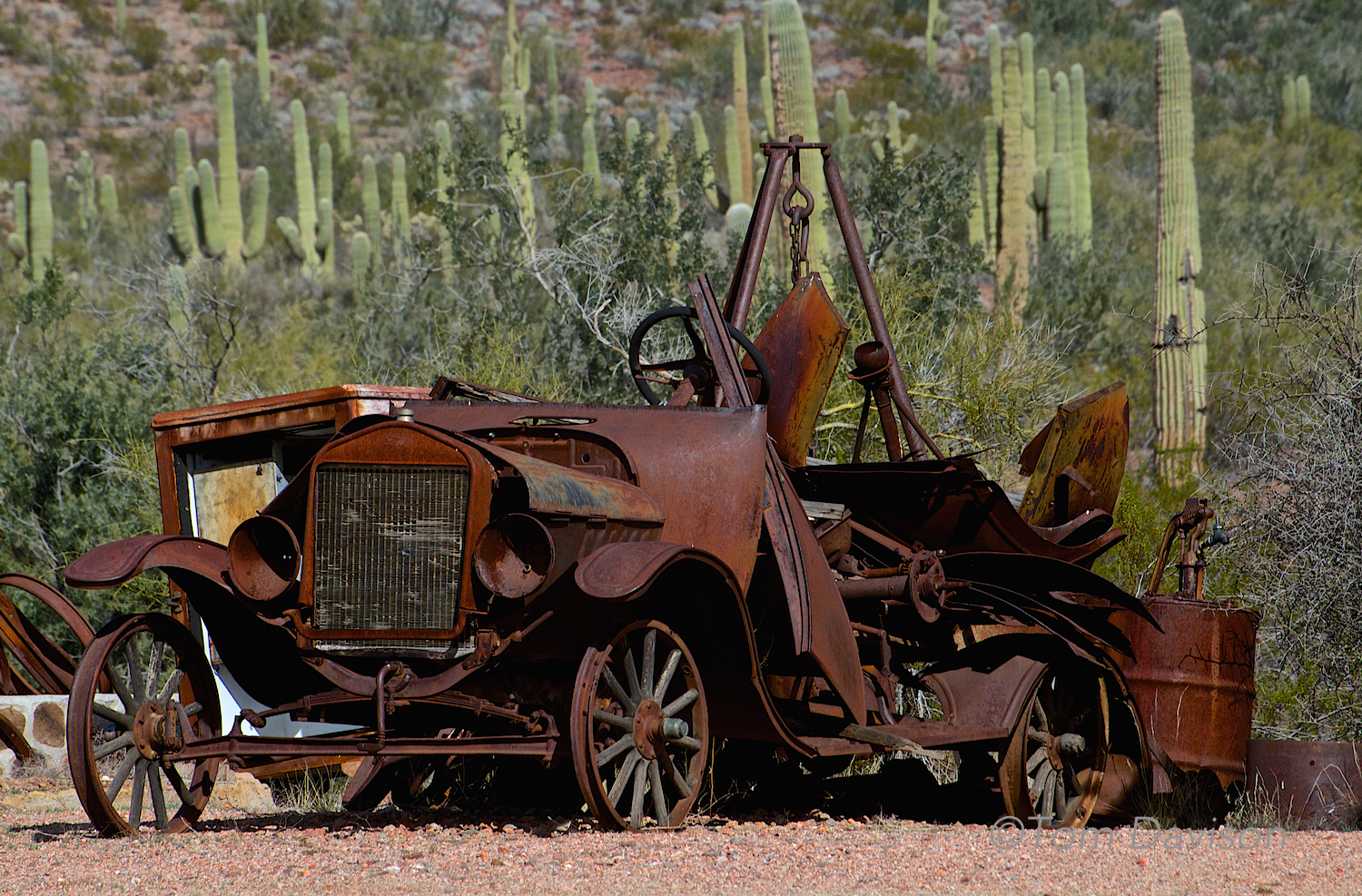 This car isa bit different than those Tom saw at the Grand National Roadster Show!