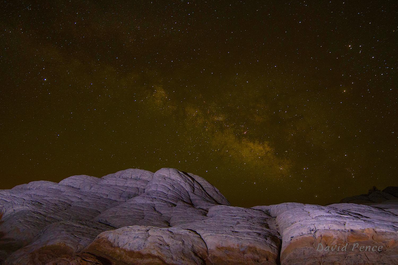 White Pocket Milky Way