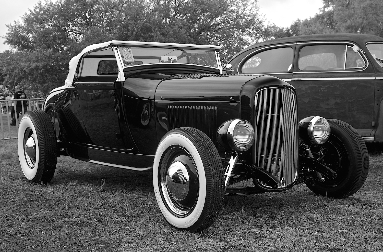 A 1931Ford Roadster.