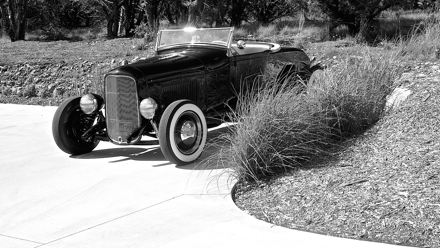 This is a 1931 Ford roadster.