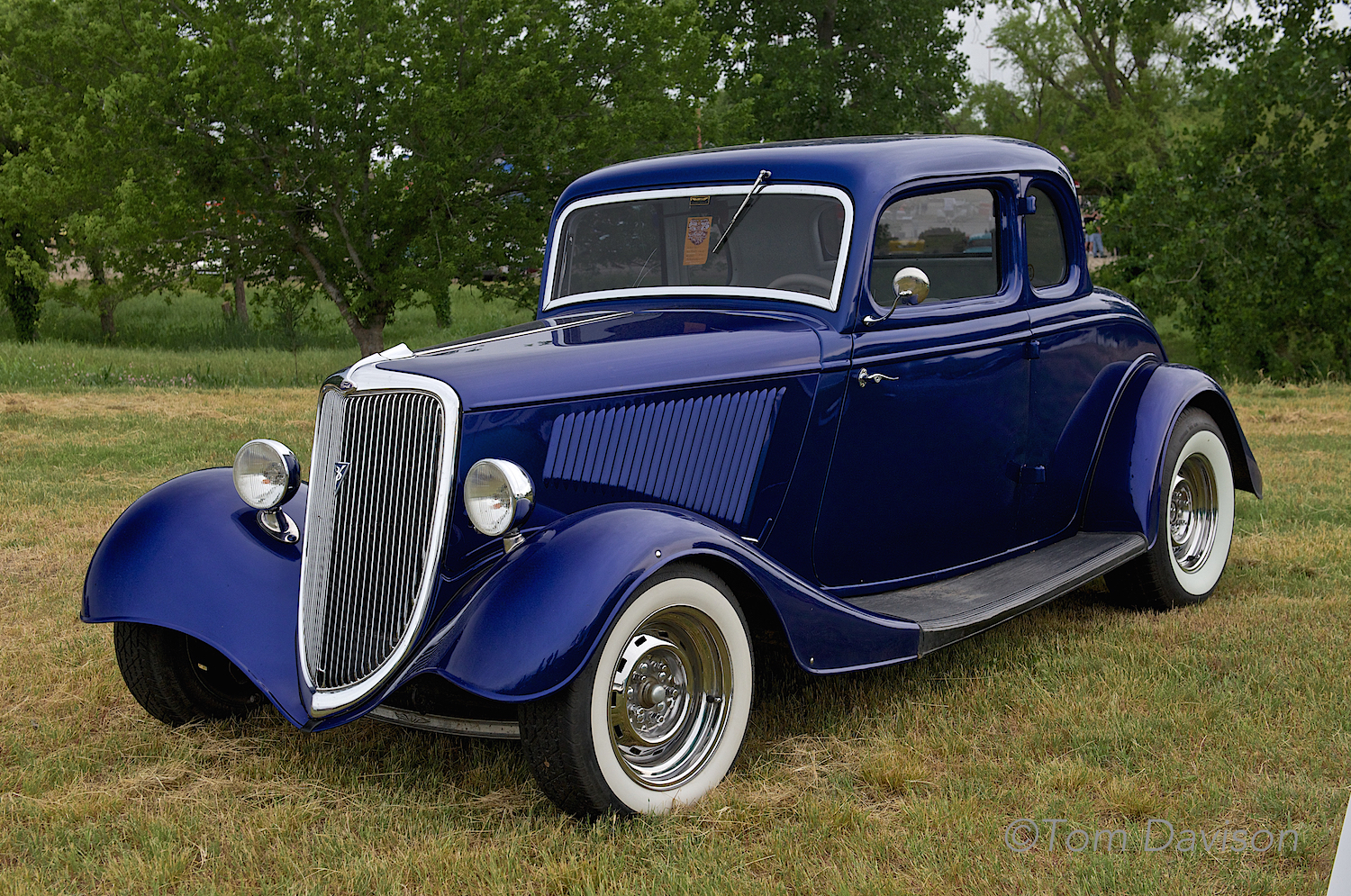 A 1934 Ford Coupe.
