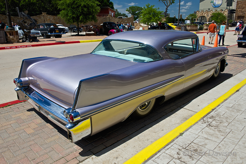 A 1958 Cadillac.