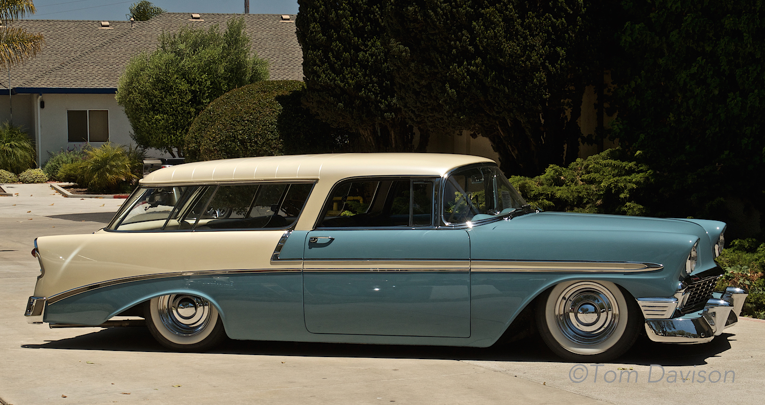 Classic 1956 Chevy Nomad.
