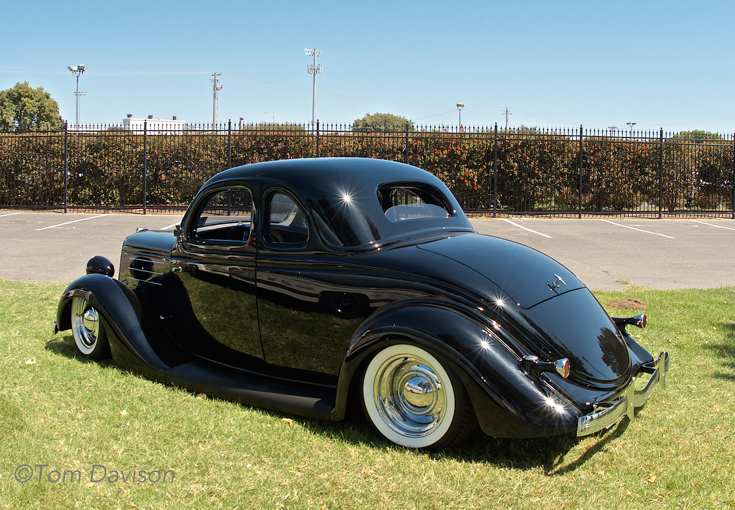 Pristine example of a 1935 Ford street rod coupe