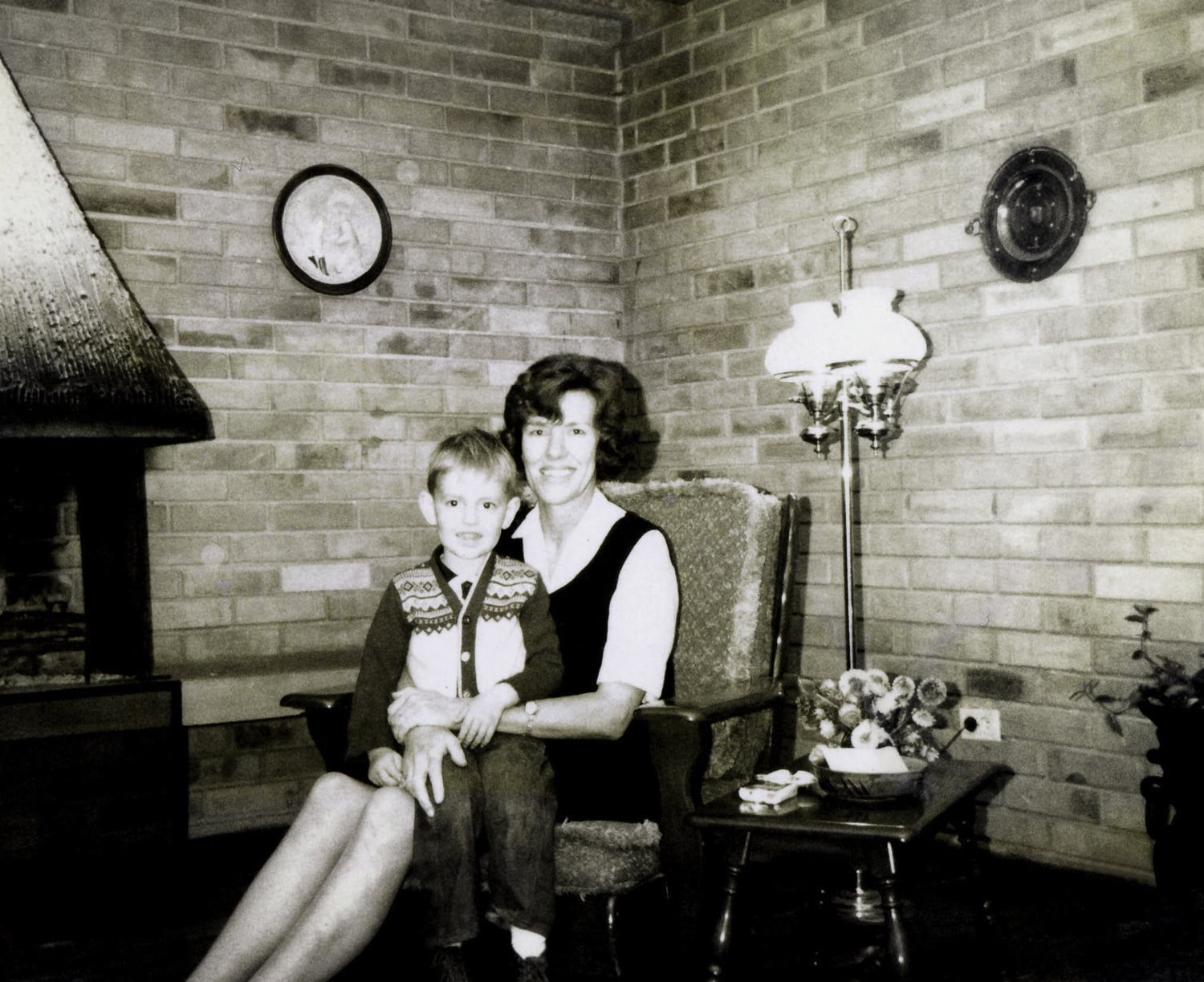 Mom shown here with Joe. This new brother was born in Monterrey, Mexico when I was about 14.