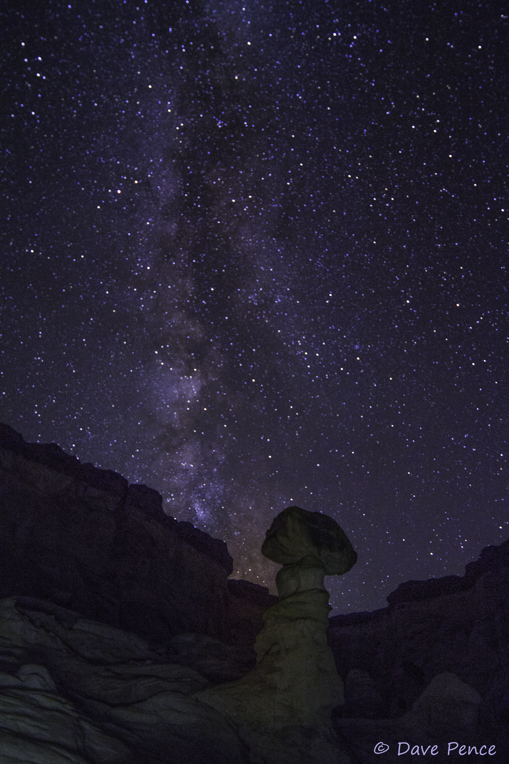 Dave and I both love photographing the Milky Way. I have not done it for a while so I appreciate his efforts . . . and results.