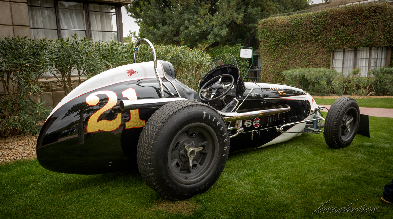 Circle Track racer mid-sixties era.
