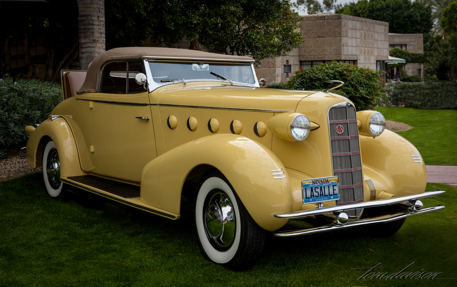 Late 30's LaSalle, known as the baby Cadillac.