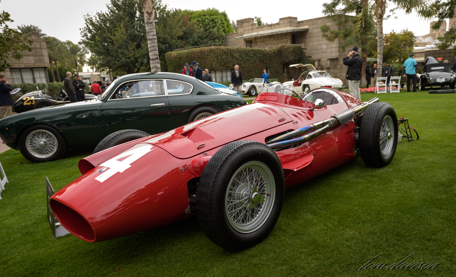 Mid-fifties Grand Prix racer.