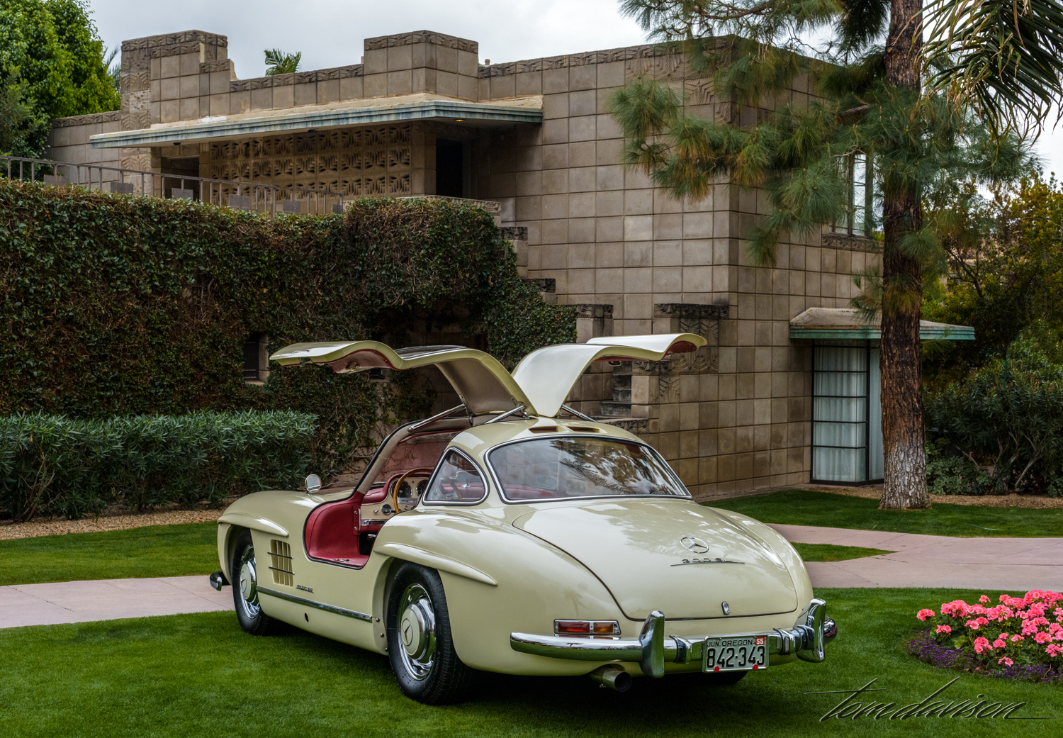 1955 Mercedes Benz 300 SL Gullwing coupe