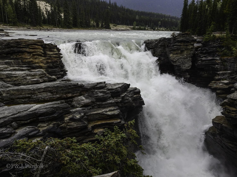 Athabaska River Falls