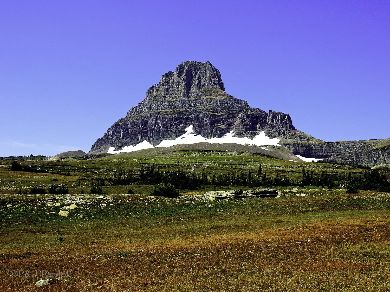 Clements Mountain at Logan Pass
