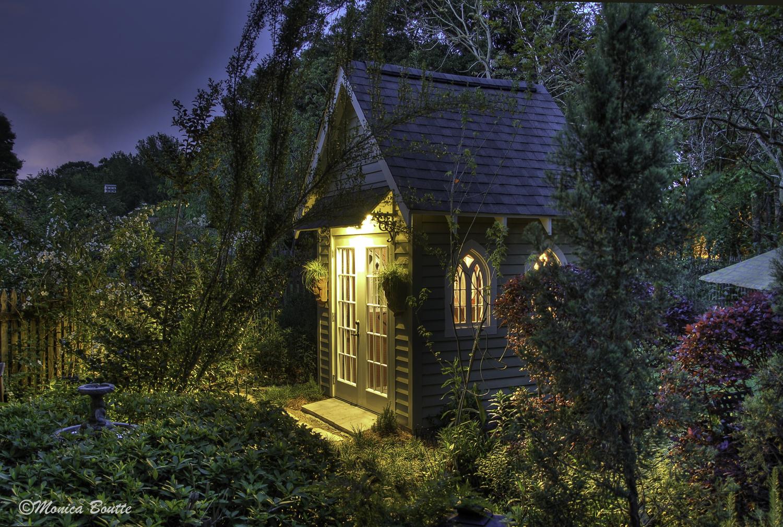 Monica's garden shed. Good night.