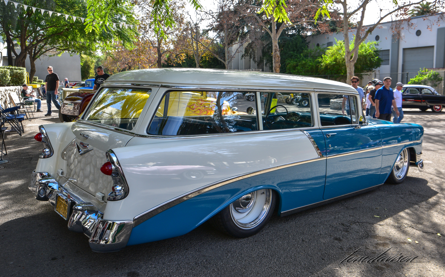 1956 Chevy station wagon.