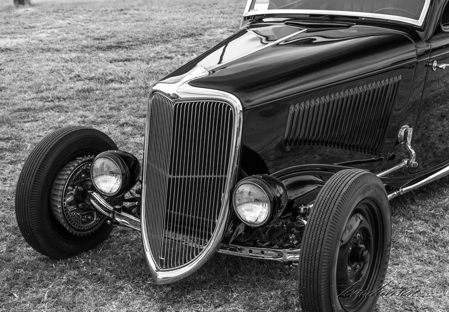 Detail of 1934 Ford