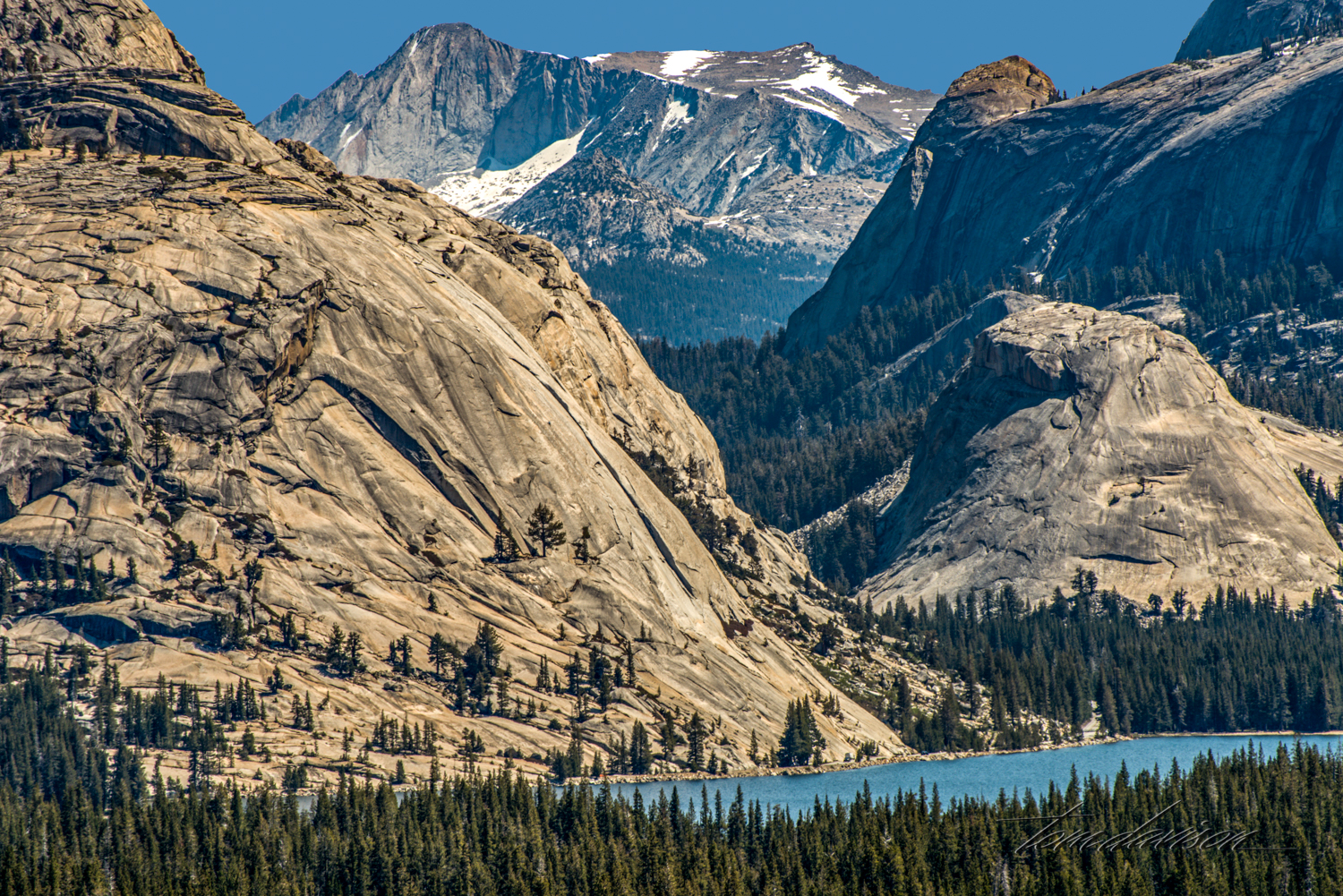 Tenaya Lake from Olmsted Point.