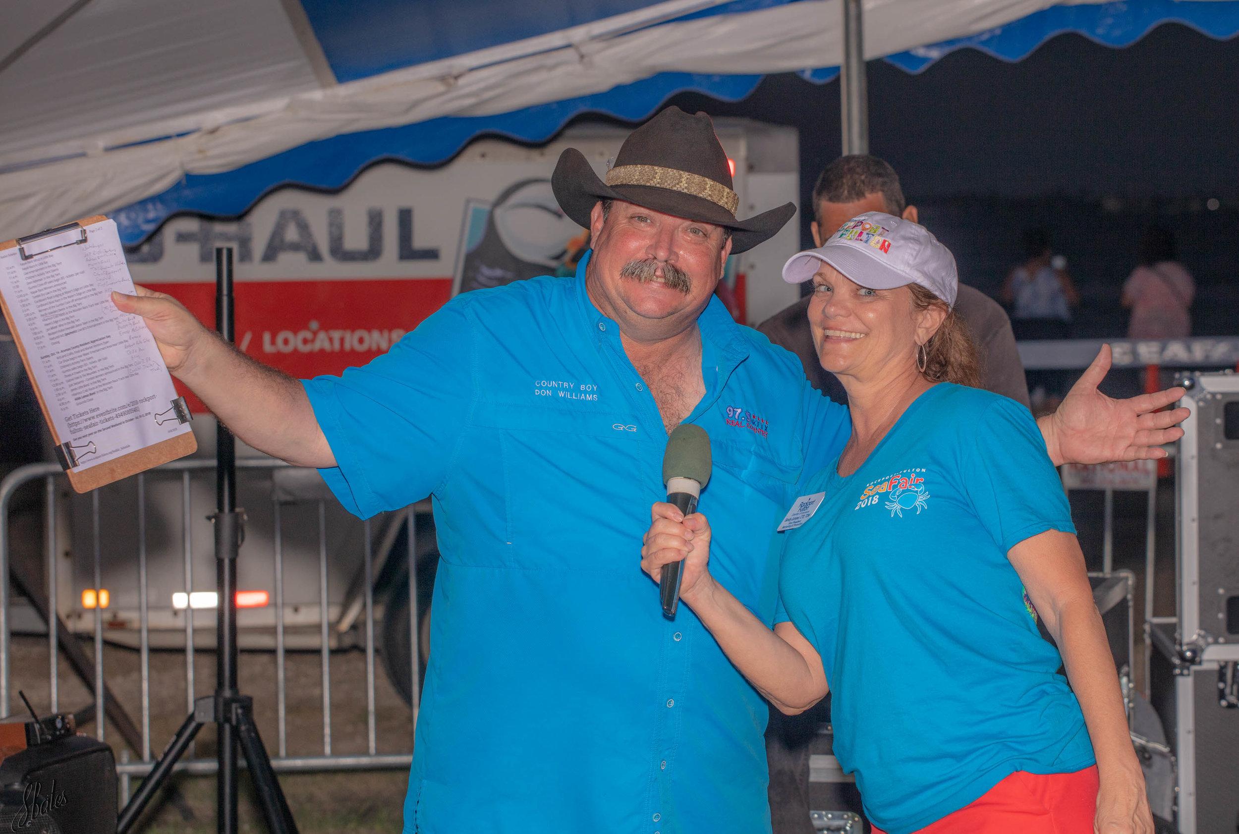 Local radio celebrity and Sea Fair music coordinator.
