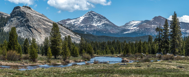 Tuolumne Meadows in Yosemite National Park.