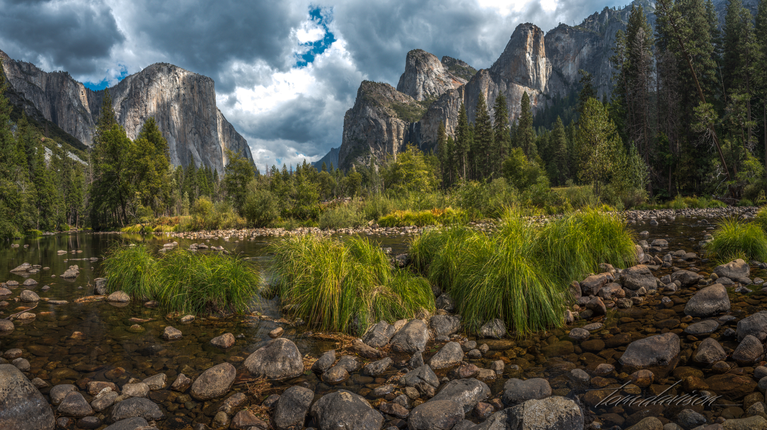 Valley in Yosemite National Park.