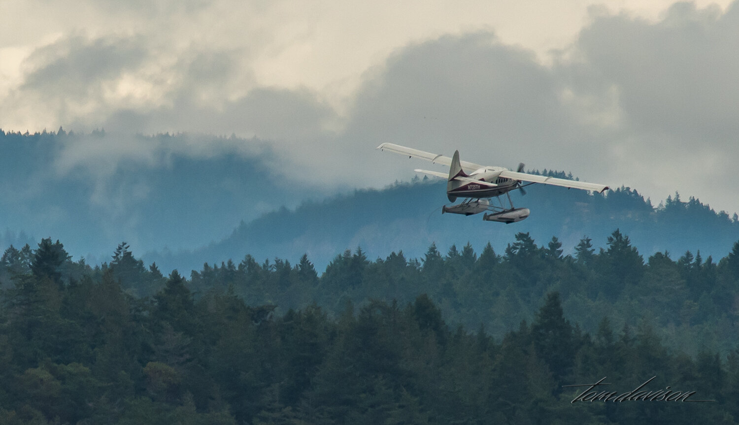 Seaplanes are a common form of transportation with landing terminals near the ferry