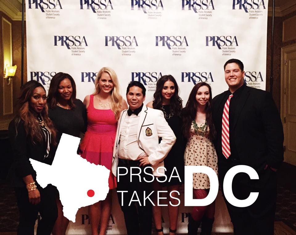 PRSSA University of Houston takes D.C.