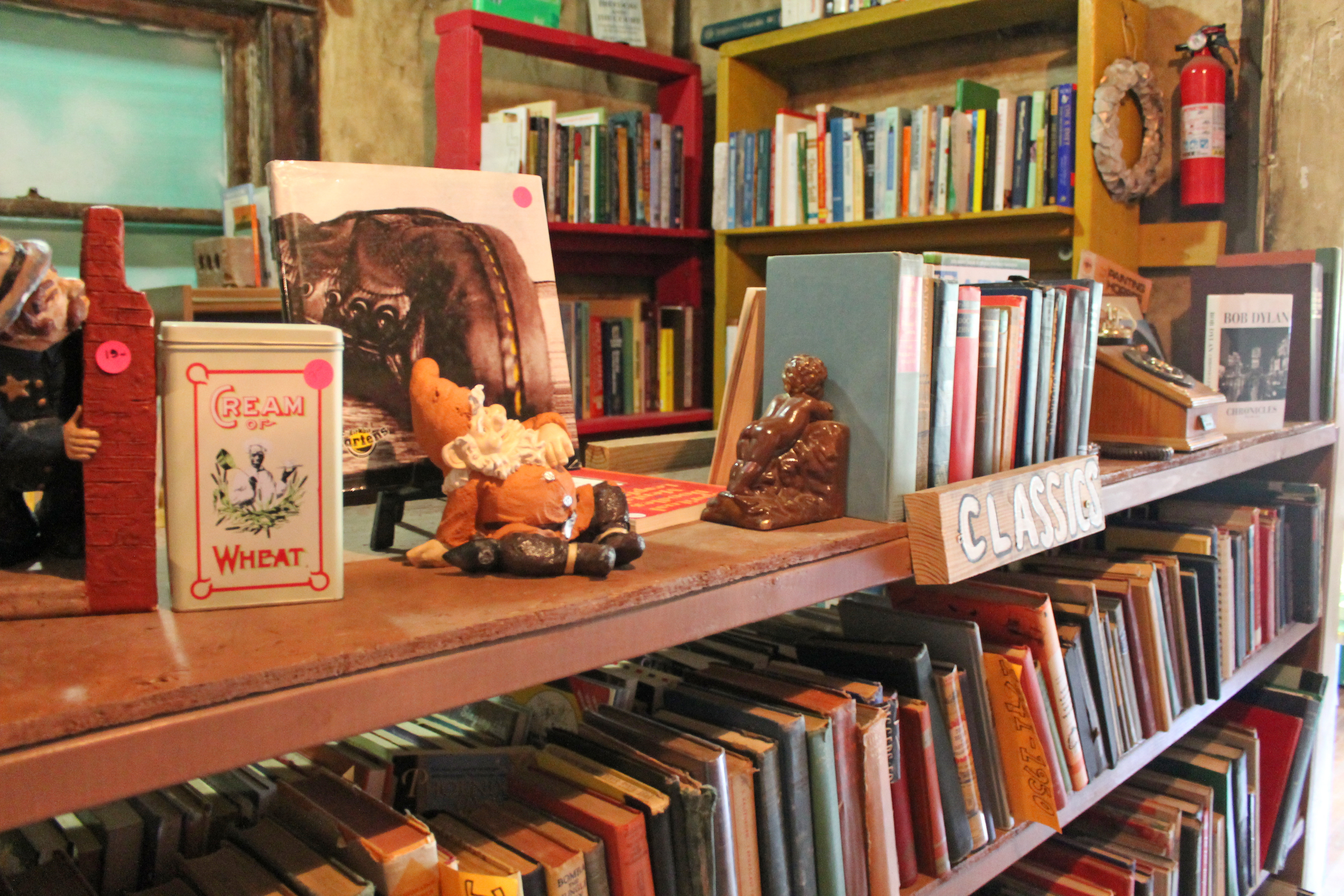 Lawn Gnome Publishing and Bookstore - Photo by Ali Reese