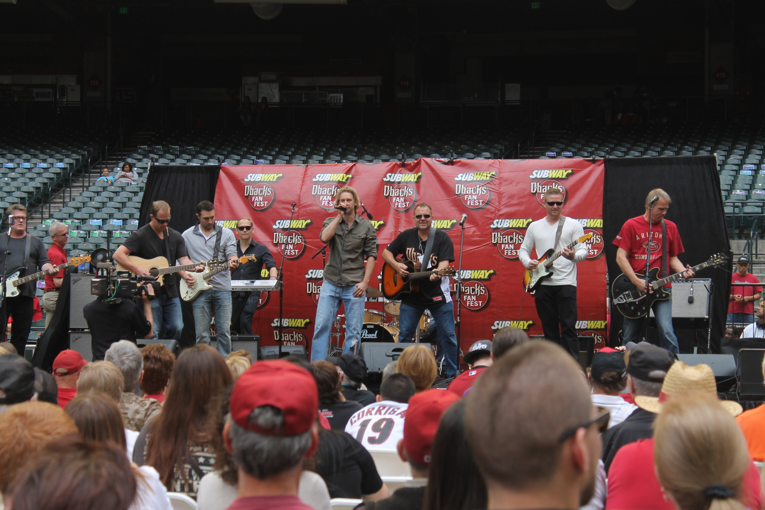 The DBacks band