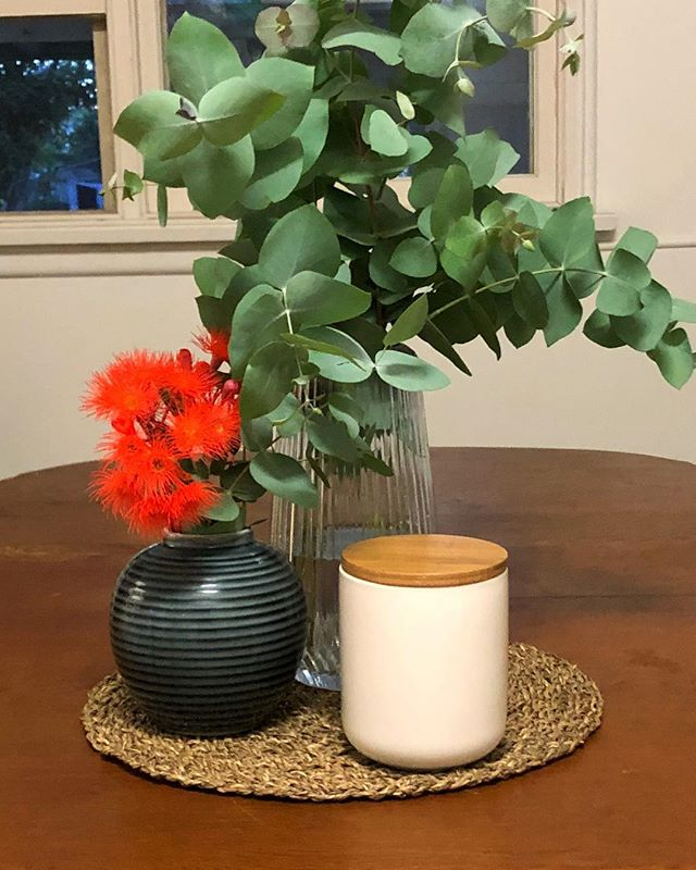 It's beginning to look a lot like Christmas 🌿@luxxsoy.com.au  #soyscentedcandles #christmasdecor #christmasgiftideas #handpouredcandles #supportlocal #pretty #luxx #luxxsoy #gum #australianchristmas #eucalyptus