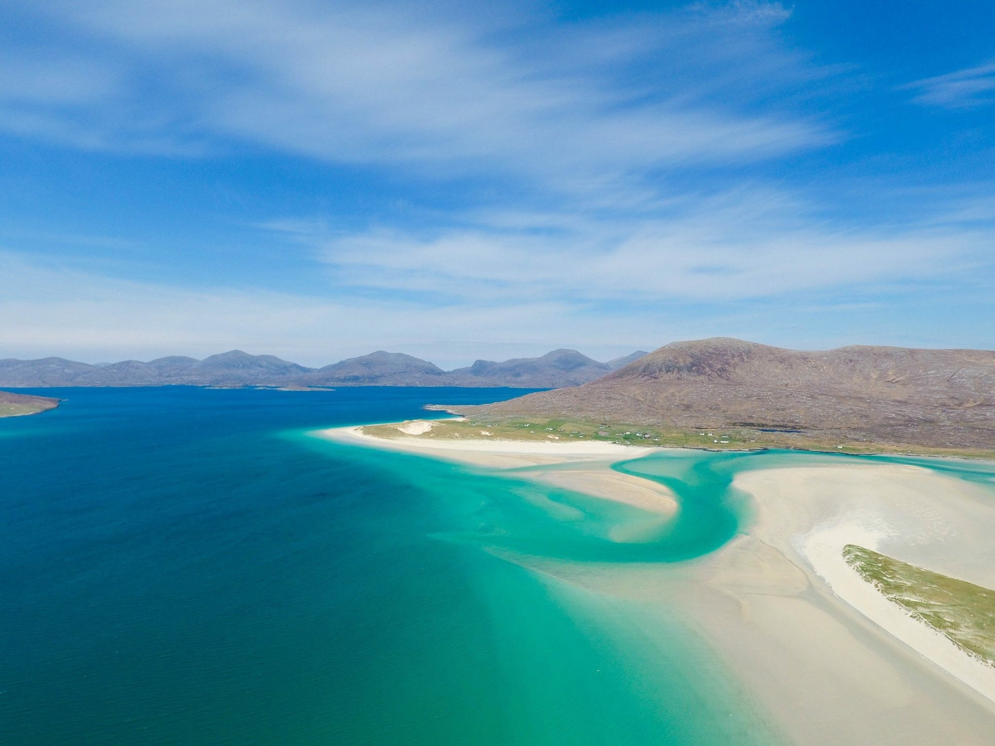 Seilebost and Luskentyre (photograph by Derek MacKinnon)