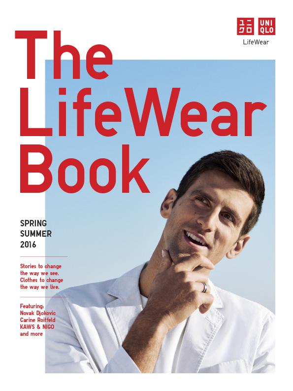 Uniqlo | the lifewear book | novak djokovic