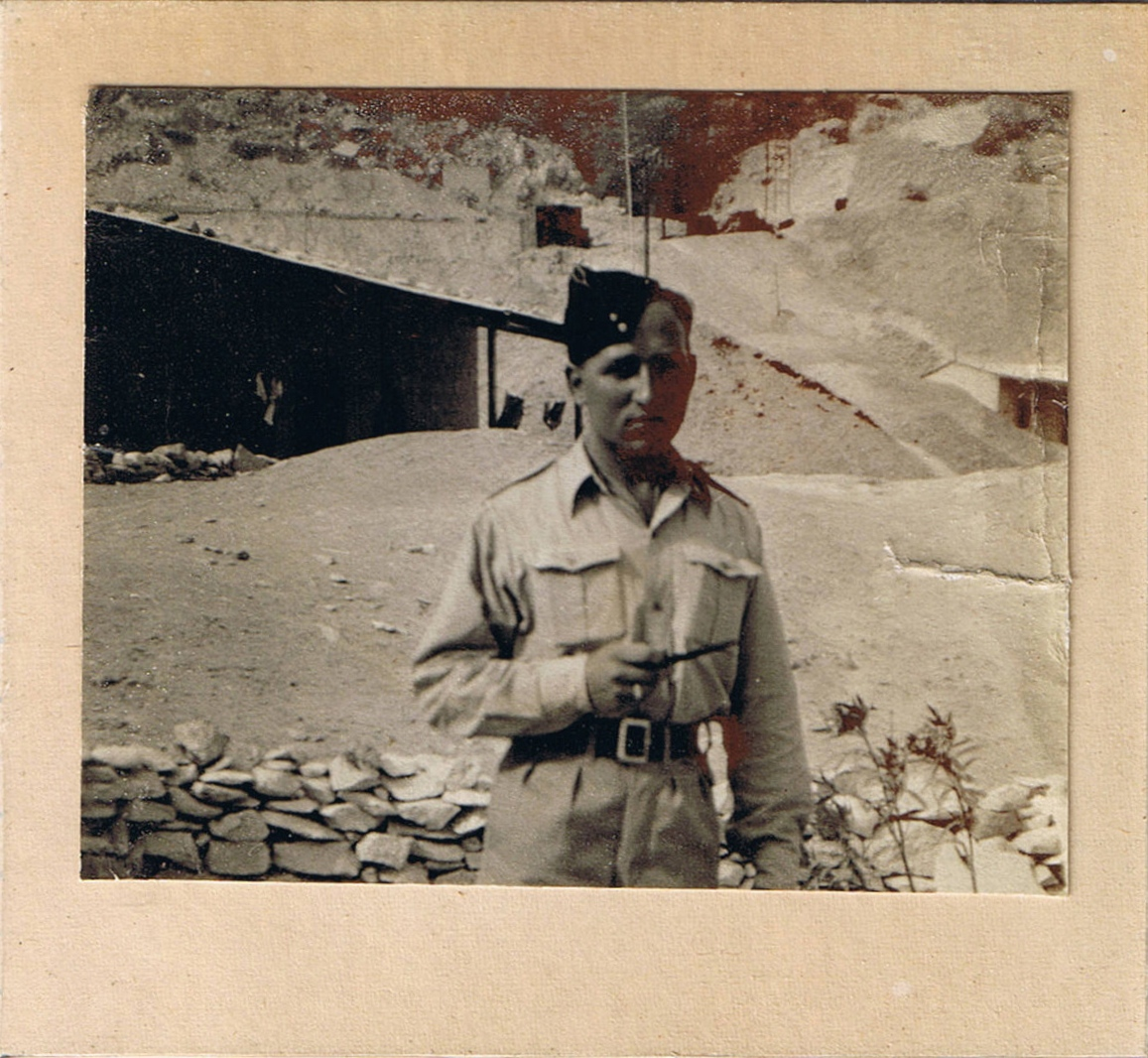 As a Sapper in the 8th Army