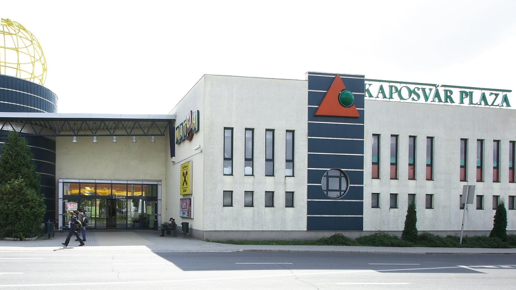 Kaposvár Pláza - elektromos tervezés