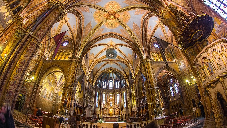 Mátyás Templom - a teljes templomtér világításvezérlése