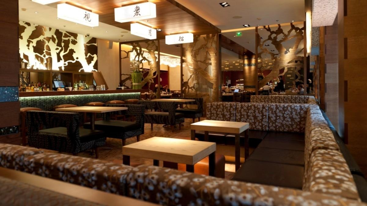 Nobu Étterem - világításvezérlés