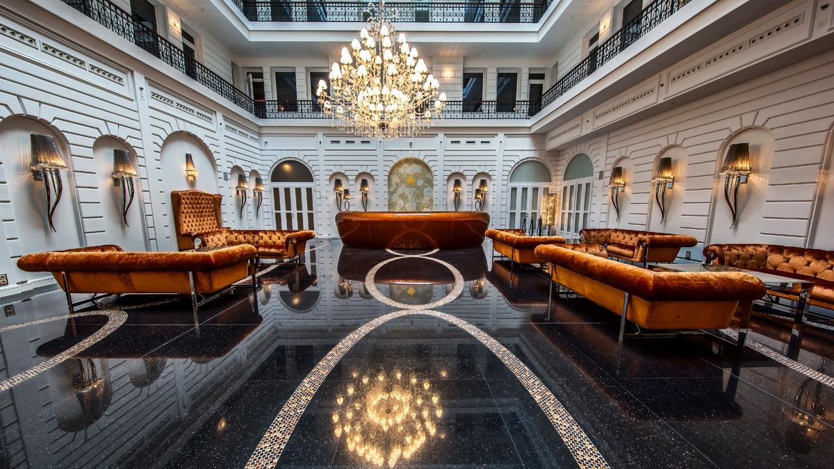 Prestige Hotel Budapest - világításvezérlés