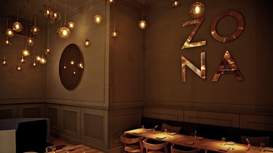 ZONA Étterem - világításvezérlés, gépészeti szabályozás