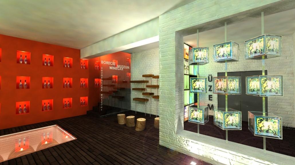 Borecet Múzeum - interaktív installáció vezérlése