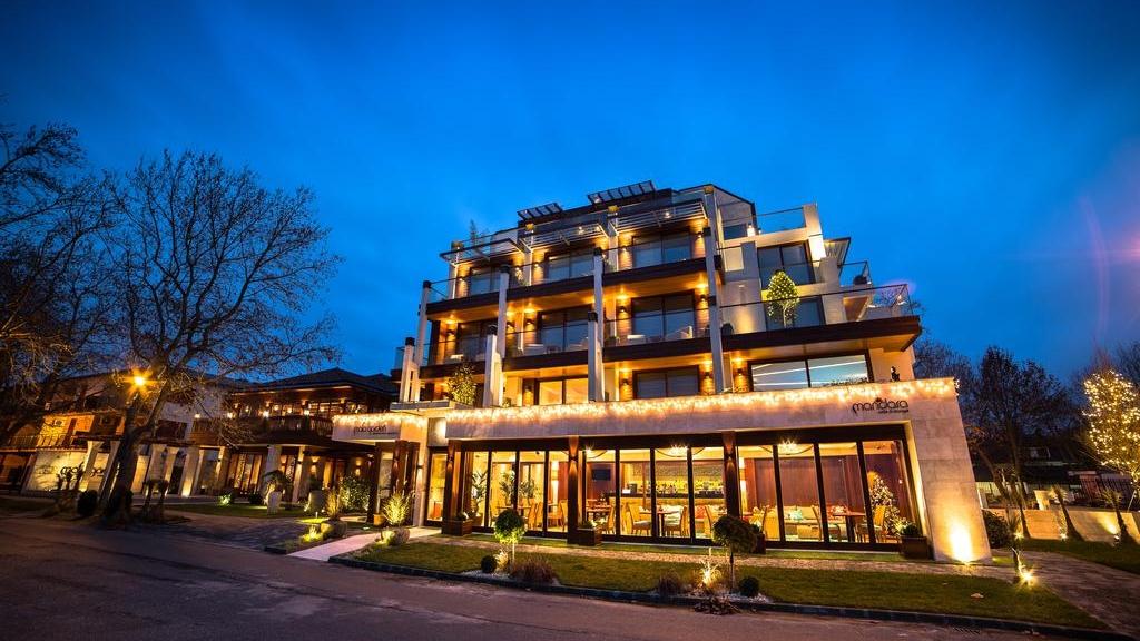 Mala Garden Superior Hotel és Étterem - világításvezérlés