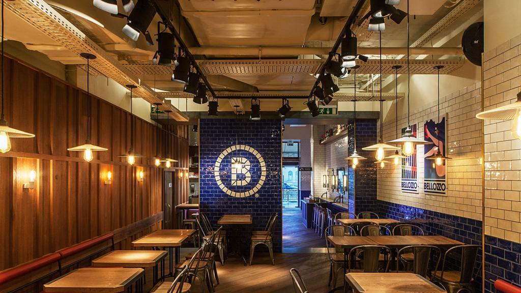 Belozzo Restaurant Oktogon - világításvezérlés