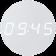 Digitális kijelző - Mutatja az időt, a hőmérsékletet, valamint az időjárás előrejelzést.