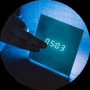 Hang - Beállíthatod, legyen-e hangja annak, ha megérinted a Loxone Touch Nightlightot.