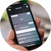 Riasztó funkció - Okos telefonodon bármikor jelez neked a Loxone Touch & Grill, ha át kell állítanod valamit.