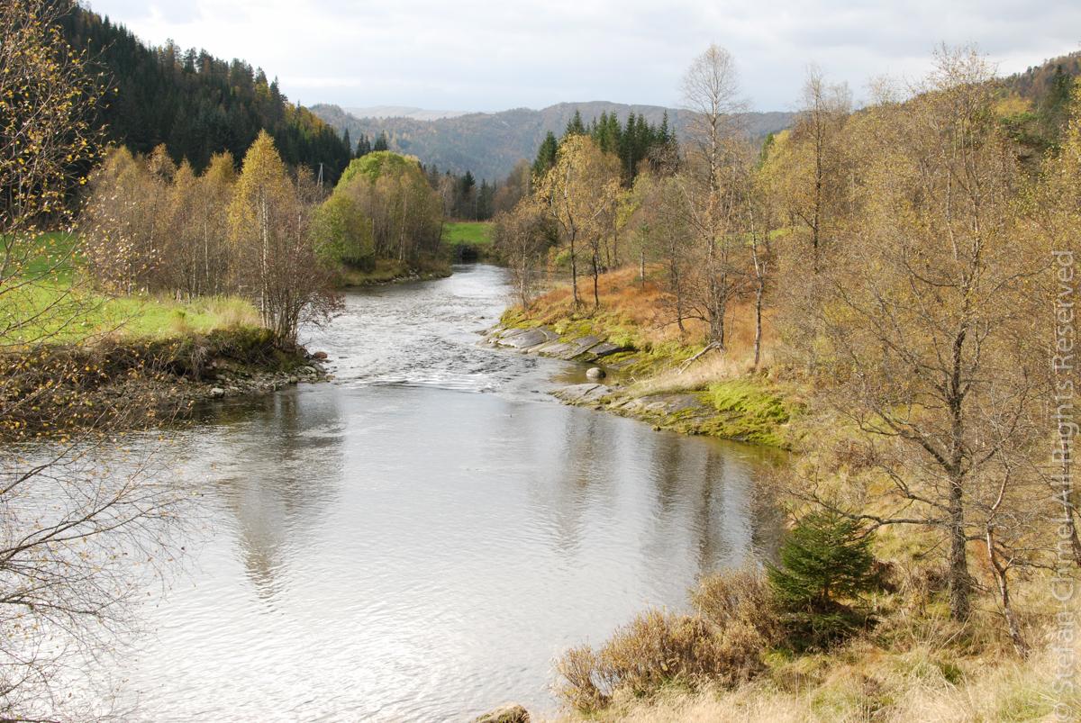Autumn in Øvstedalen