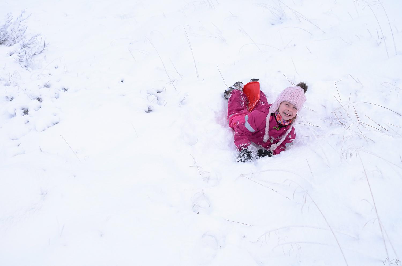 Fun in snow I.