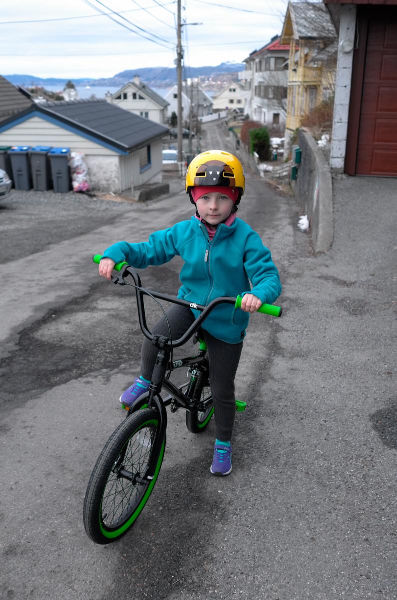 First BMX ride I.
