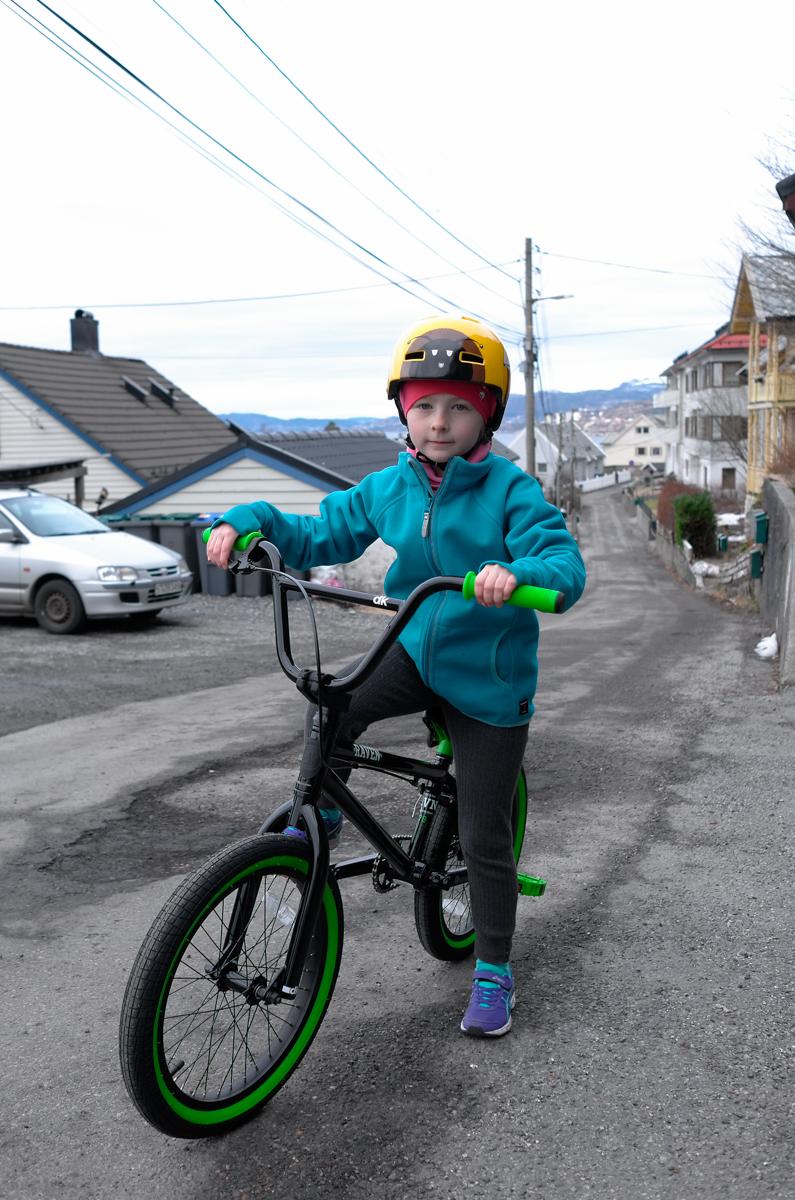 First BMX ride II.