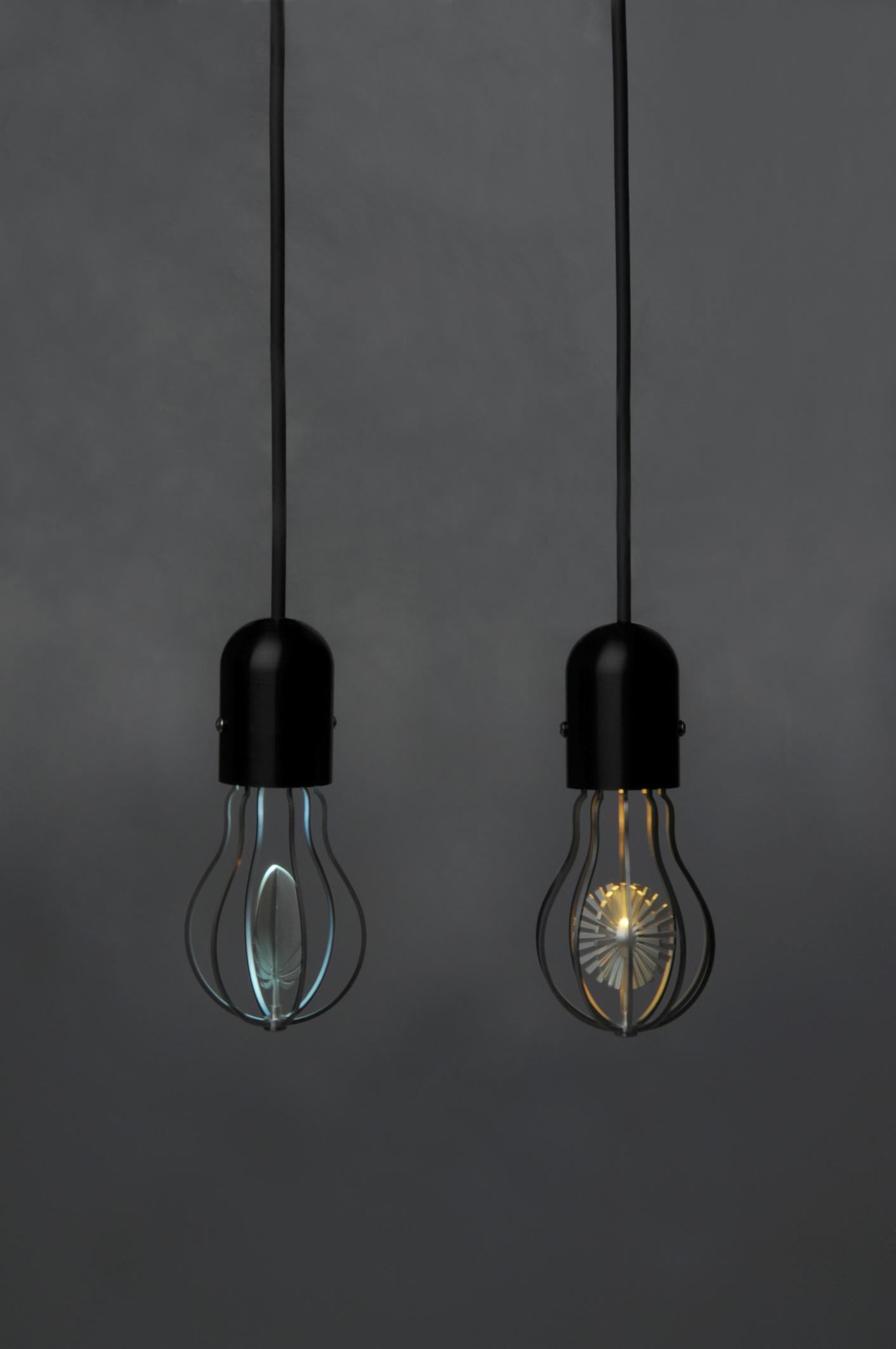 Sun and Feather Bulbs