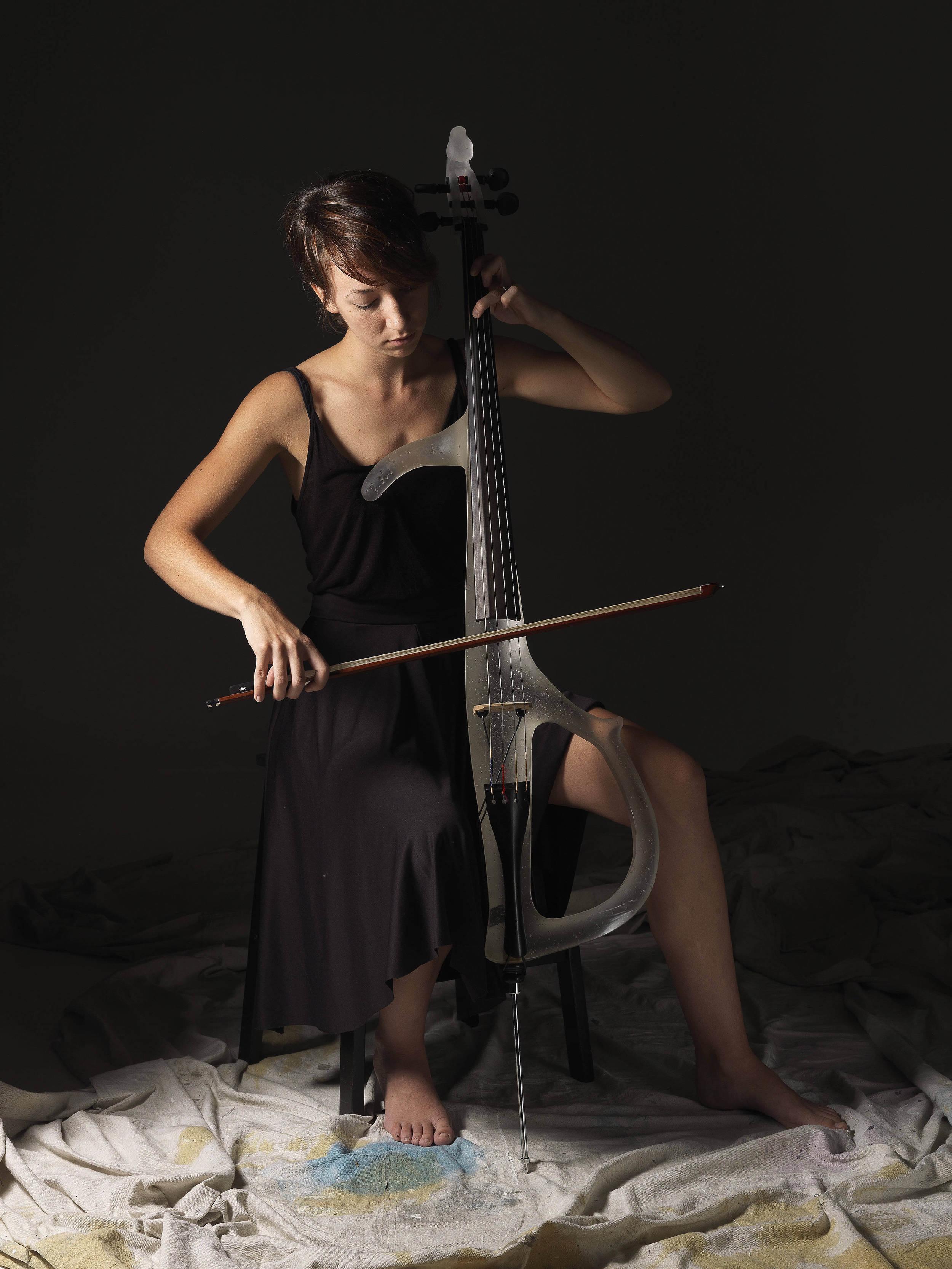 A Giocherellare (Cello Sculpture)