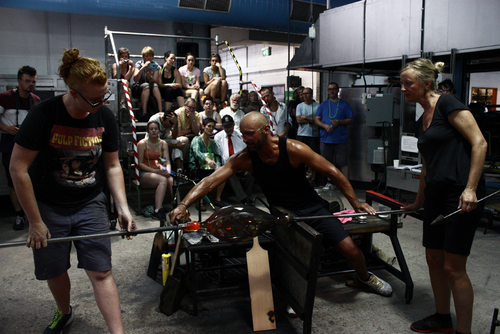 Demonstration at Ausglass Conference 2015