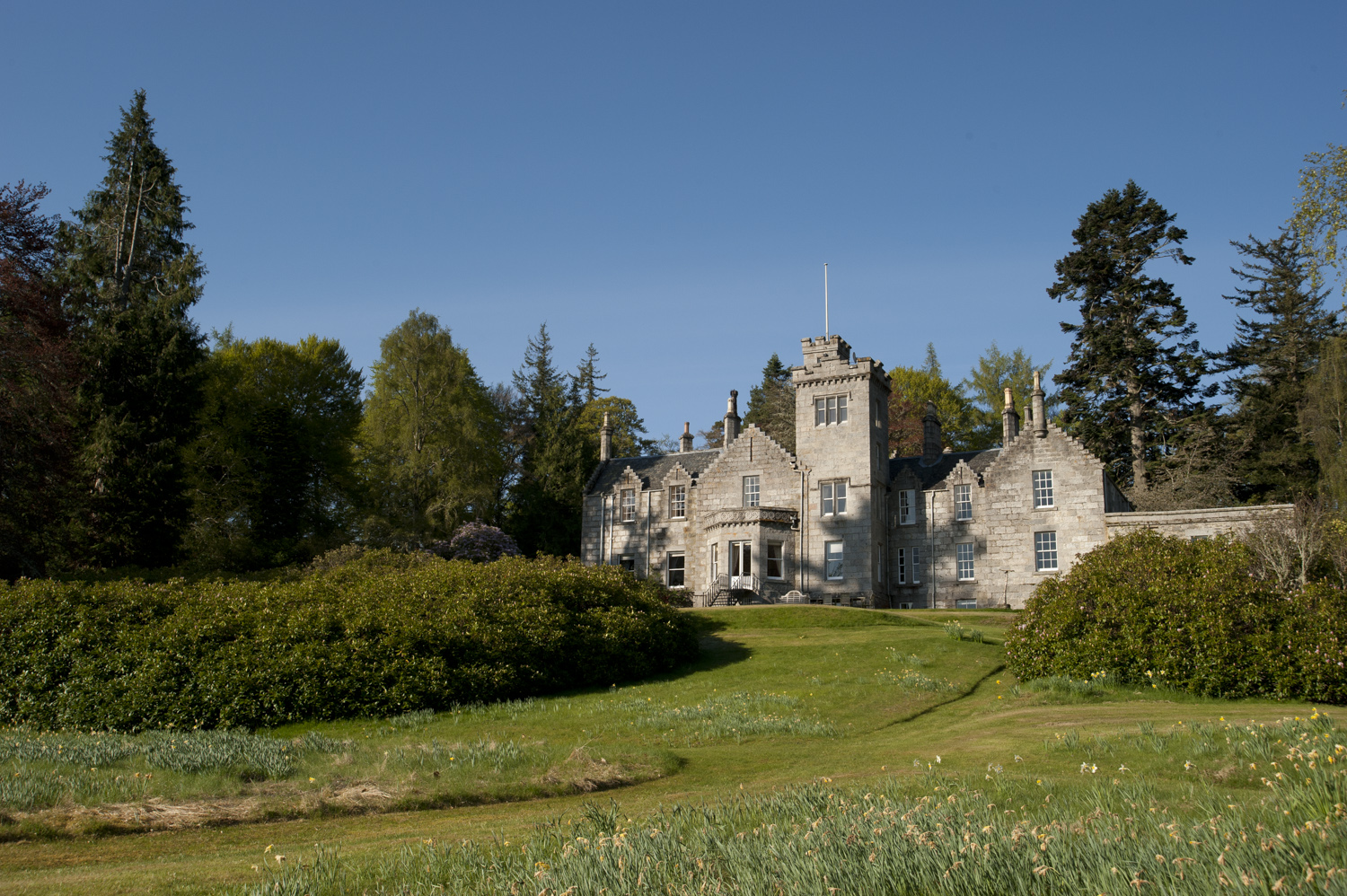 Built as a family home in the early 1840's by Major Euan Macpherson